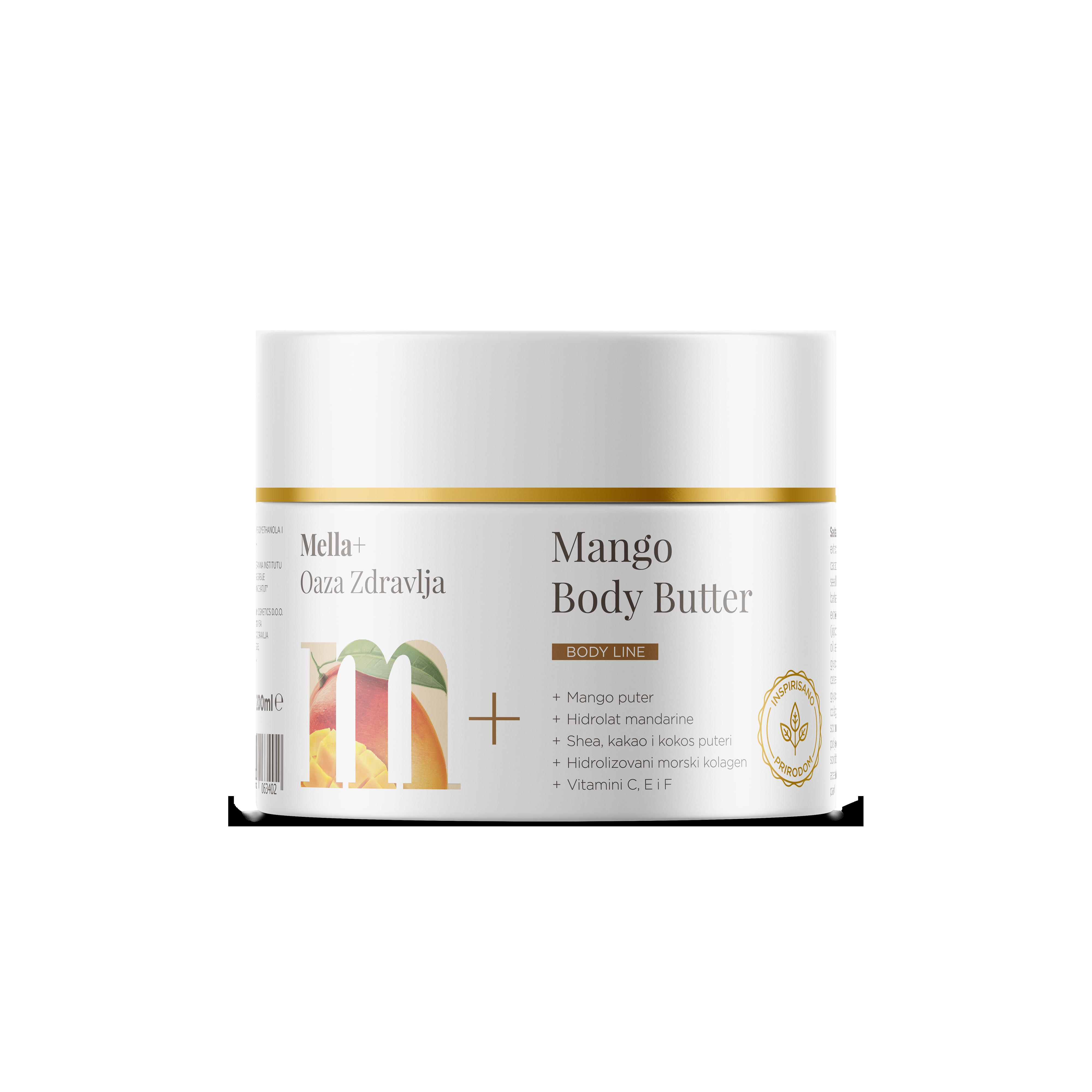 MELLA+ MANGO BODY BUTTER 200ML