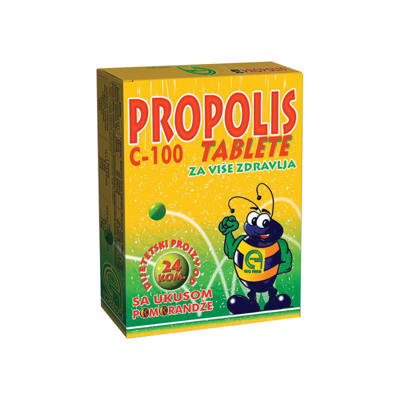 PROPOLIS C -100 24 pastile