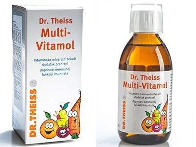 SIRUP MULTI-VITAMOL 1+ 200 ml