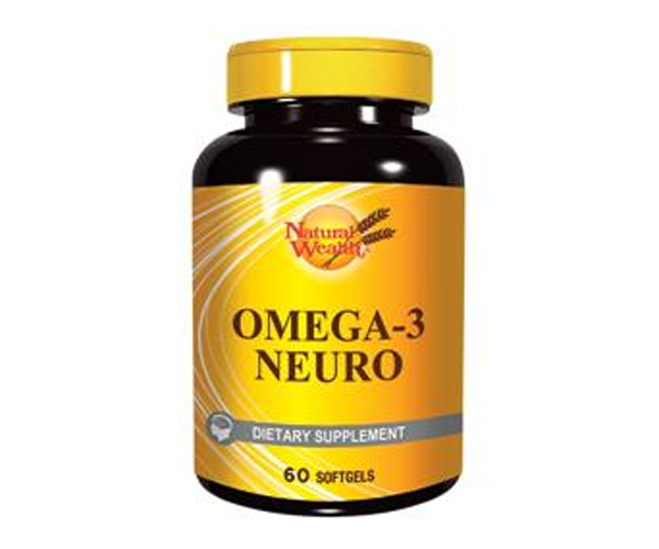 NATURAL WEALTH OMEGA 3 NEURO 60 kapsula