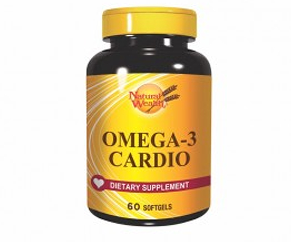 NATURAL WEALTH OMEGA 3 CARDIO 60 kapsula