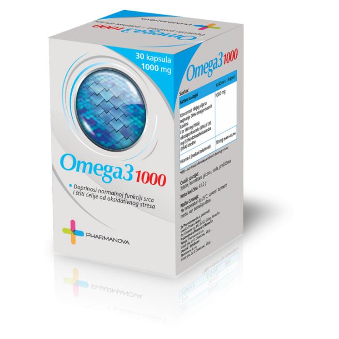 NUTRICEL OMEGA-3 kapsule 30x1000mg
