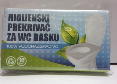 HIGIJENSKI PREKRIVAČ ZA WC DASKU 10 kom.