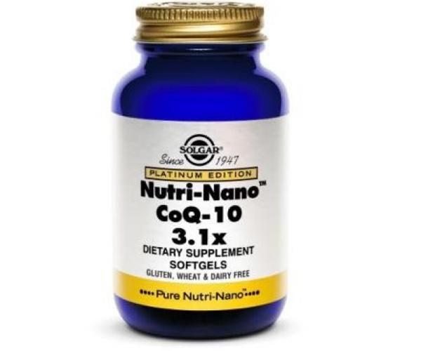 SOLGAR NUTRINANO CoQ10 50X30 mg