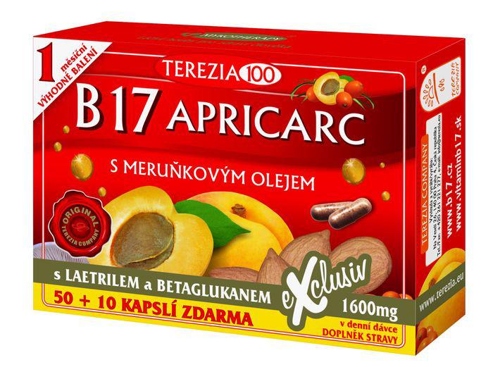 B17 APRICARC 60 kapsula