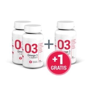 OMEGA 3+VITAMIN E 30 kapsula 2 + 1 GRATIS