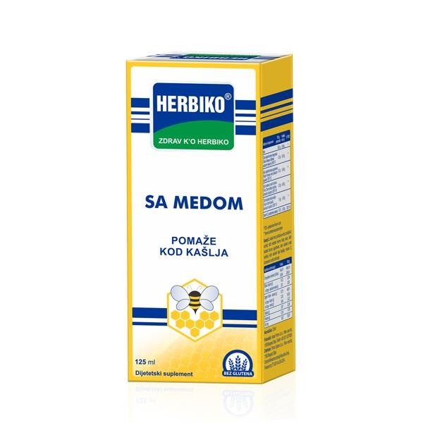 SIRUP HERBIKO SA MEDOM 125 ml