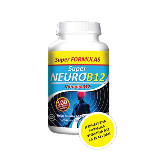 SUPER NEURO B12 100 tableta