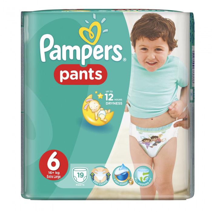 PAMPERS PANTS BR.6 19 kom.