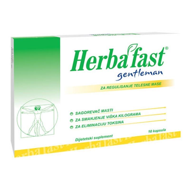 HERBAFAST GENTLEMAN 10 kapsula