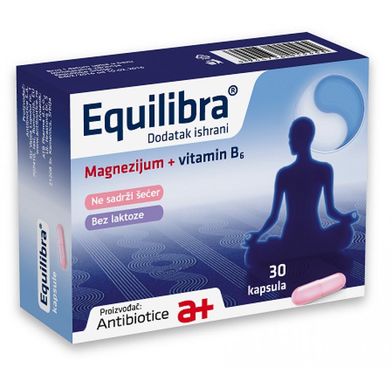 EQUILIBRA Mg + B6 30 kapsula