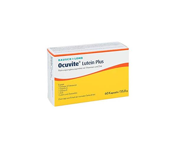 OCUVITE LUTEIN PLUS 60 kapsula
