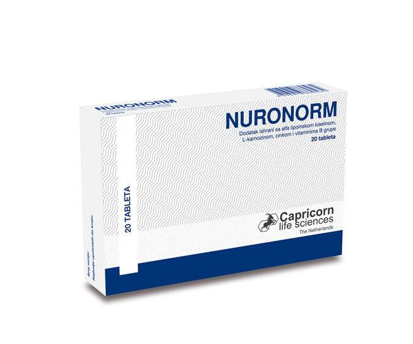 NURONORM 20 tableta