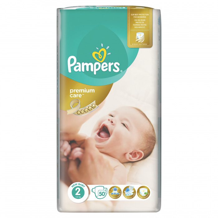 PAMPERS PELENE PREMIUM 2 50 kom.