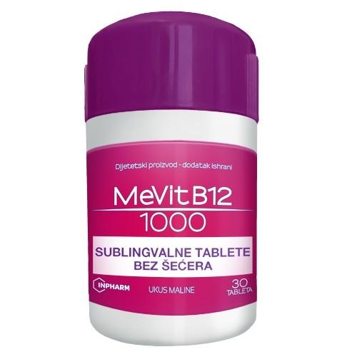 MEVIT B12 1000mcg 30 tableta