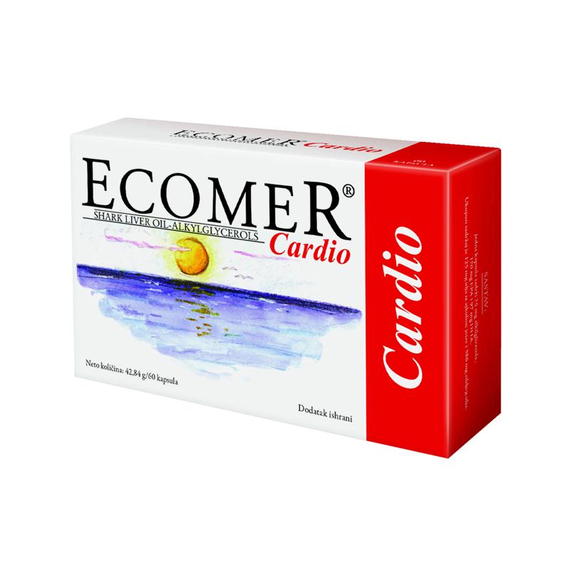 ECOMER CARDIO 60 kapsula