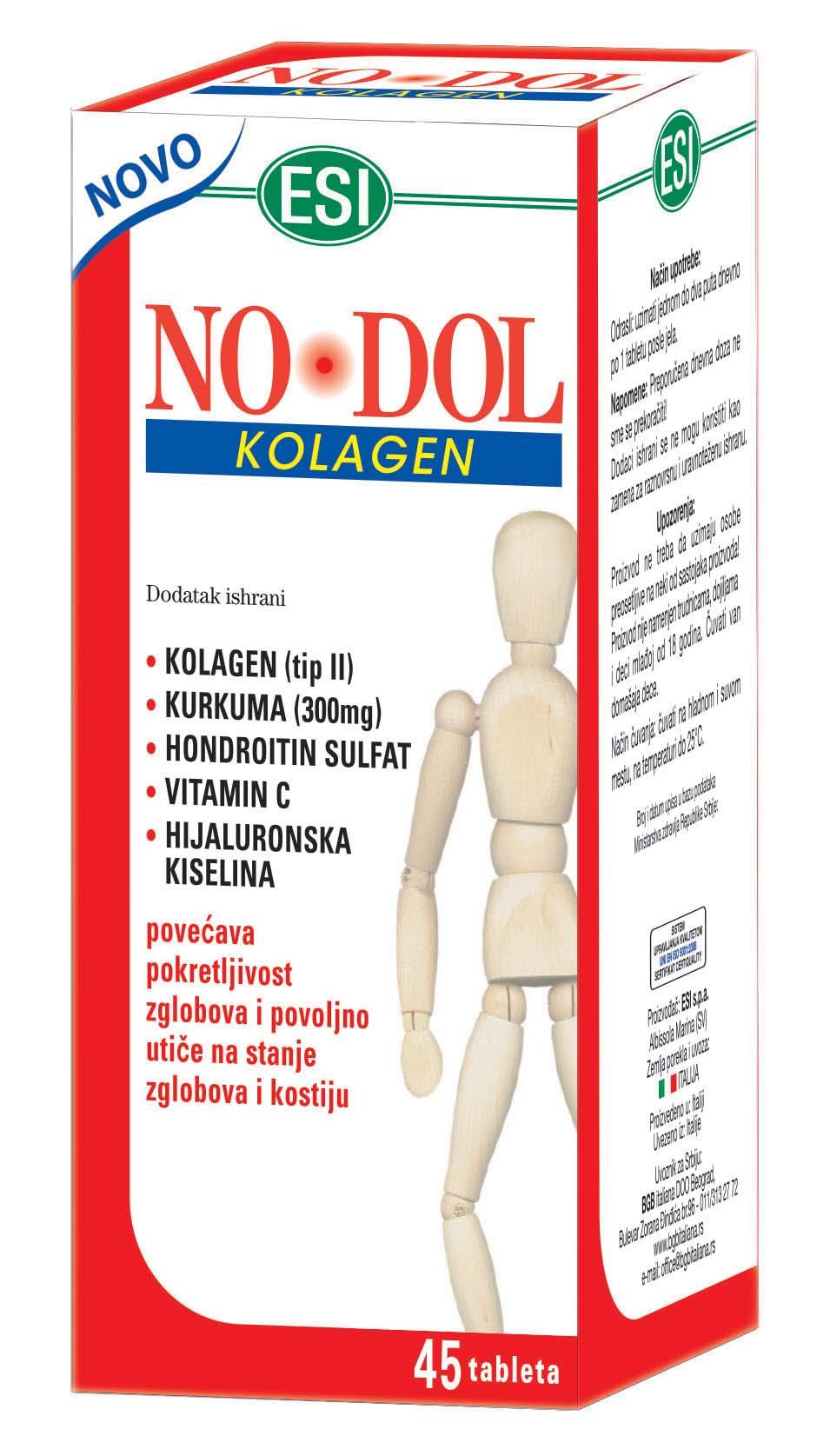 NO DOL KOLAGEN 45 tableta