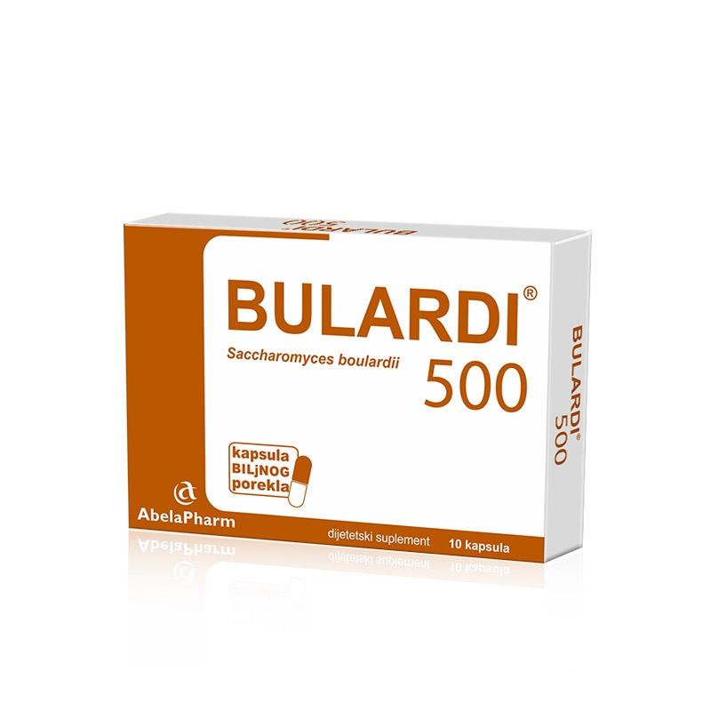 BULARDI 500 10 kapsula