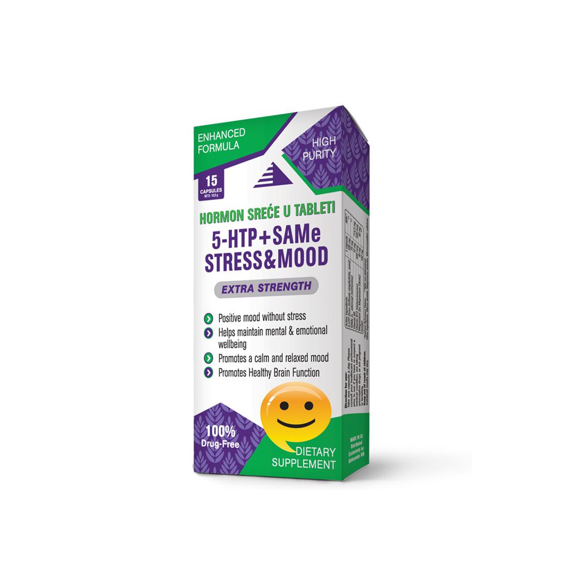 5-HTP + SAMe STRESS & MOOD 15 kapsula
