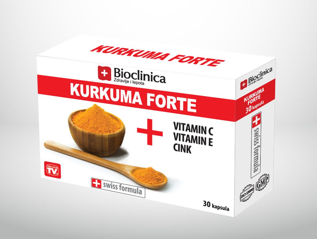 KURKUMA FORTE 30 kapsula