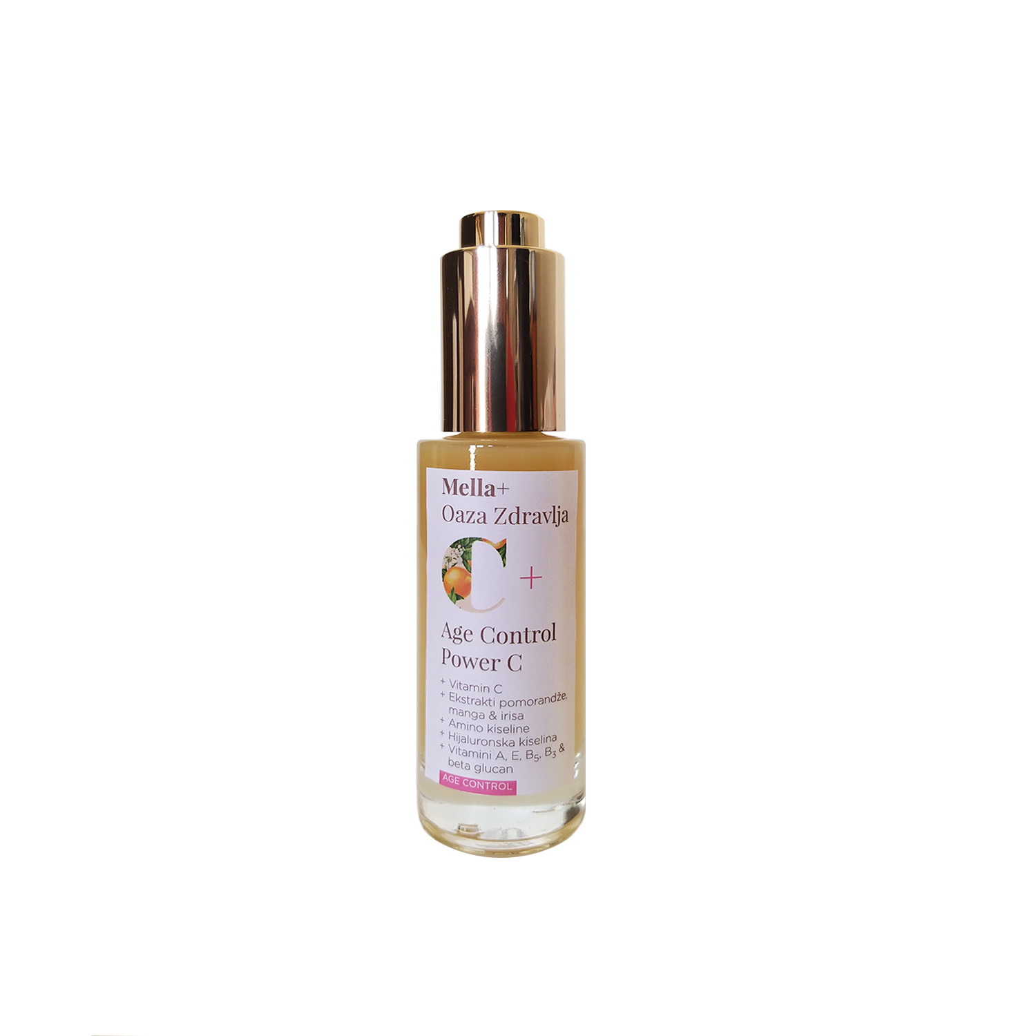 MELLA+ AGE CONTROL POWER C SERUM SPF20 30ML