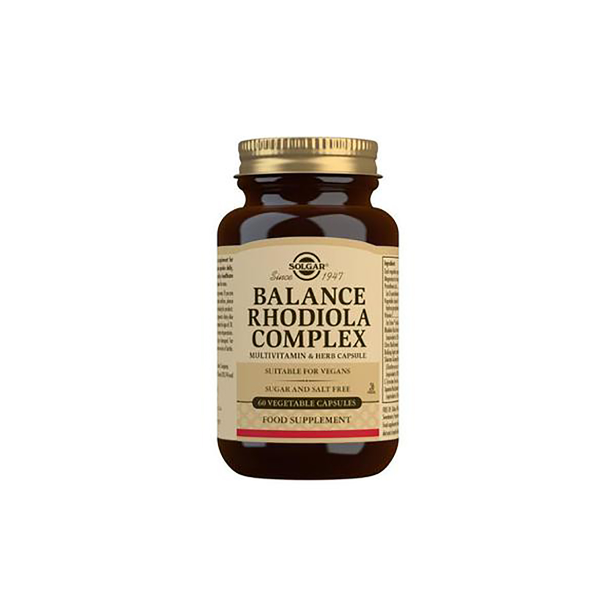 SOLGAR BALANCE RHODIOLA COMPLEX 60 kapsula
