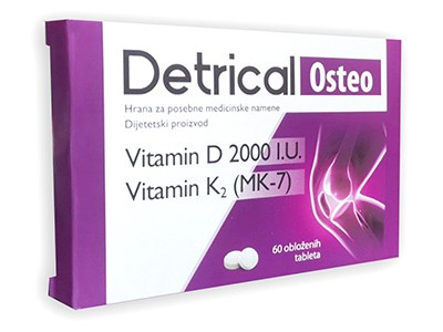 DETRICAL OSTEO 60 tableta