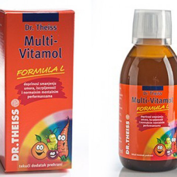 SIRUP MULTI-VITAMOL 6+ 200 ml
