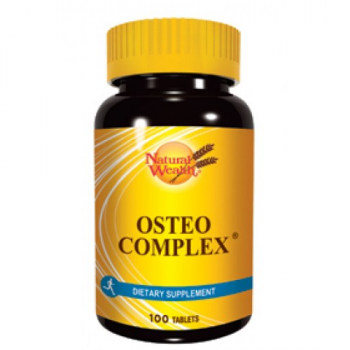 NATURAL WEALTH OSTEO COMPLEX Ca + Mg + Fe 100 tableta