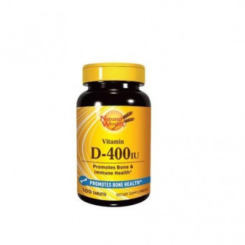 NATURAL WEALTH VITAMIN D 400IJ 100 tableta