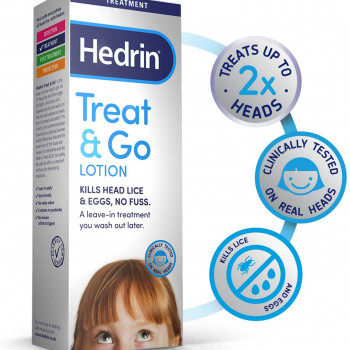HEDRIN TREAT&GO LOSION 50ML
