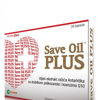 SAVE OIL SOFTGEL PLUS 30 kapsula
