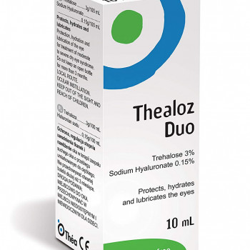 THEALOZ DUO KAPI ZA OČI 10ml