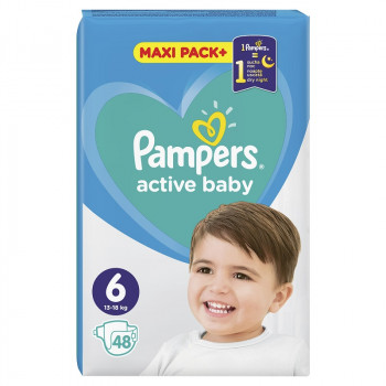 PAMPERS AB JPM PEL.BR.6 A48