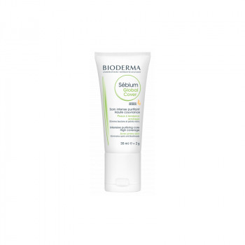 BIODERMA SEBIUM GLOBAL COVER 30ML +2G
