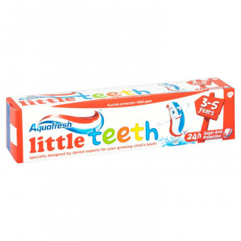 PASTA AQUAFRESH LITTLE TEETH 50ML UZRAST 3-5 GODINE