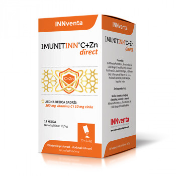 IMUNITINN C+ZN DIRECT 15 kesica