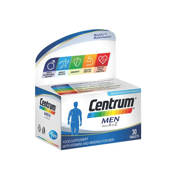 CENTRUM MEN 30 tableta