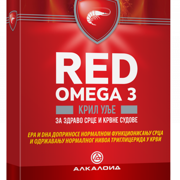 RED OMEGA 3 300MG 30 mekih kapsula