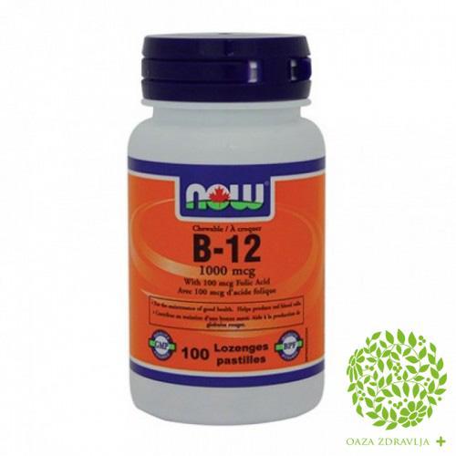 NOW VITAMIN B12 100 tableta