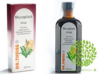 MUCOPLANT SIRUP OD BOKVICE 250 ml