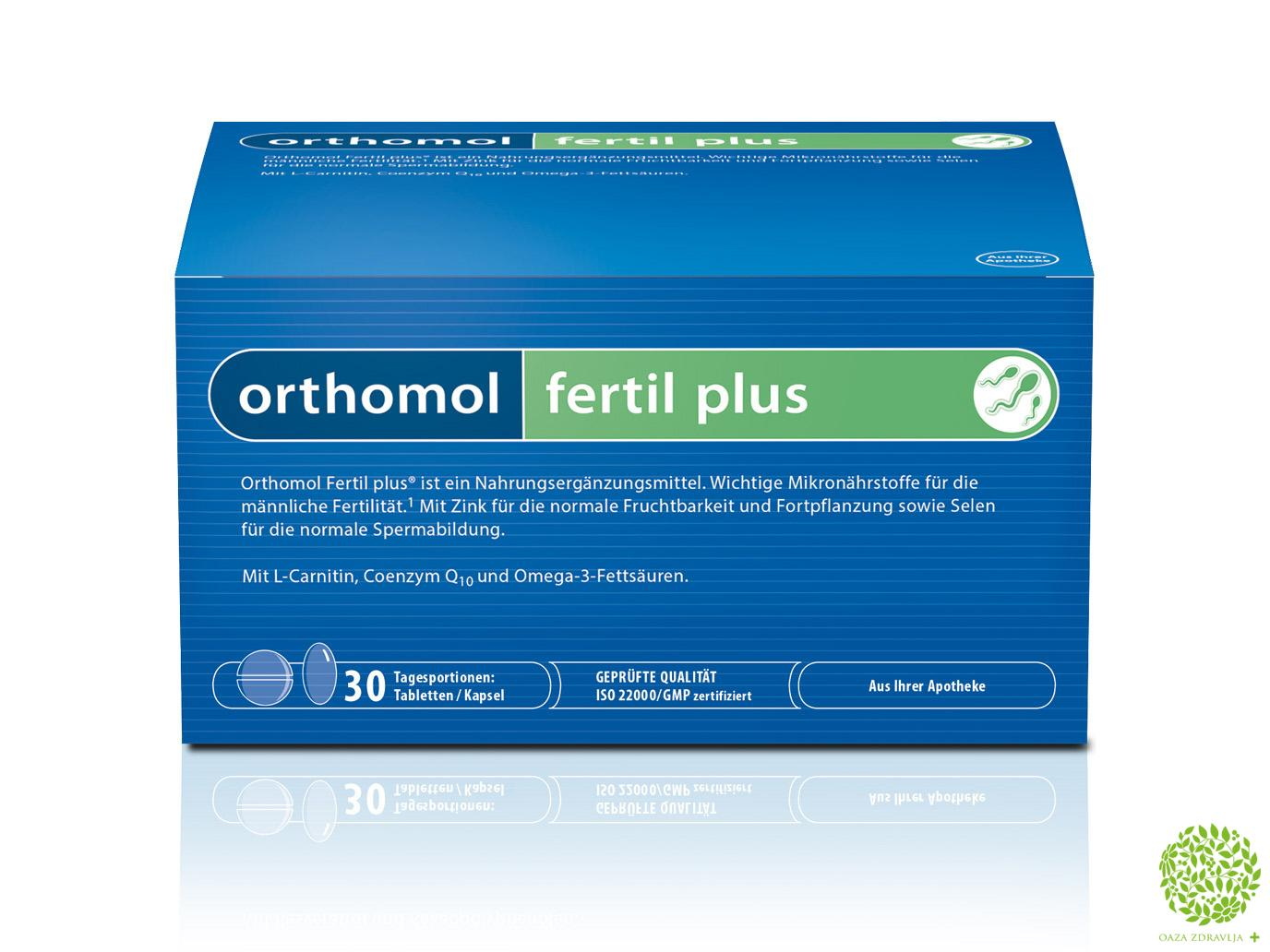 ORTHOMOL FERTIL PLUS 30DOZA