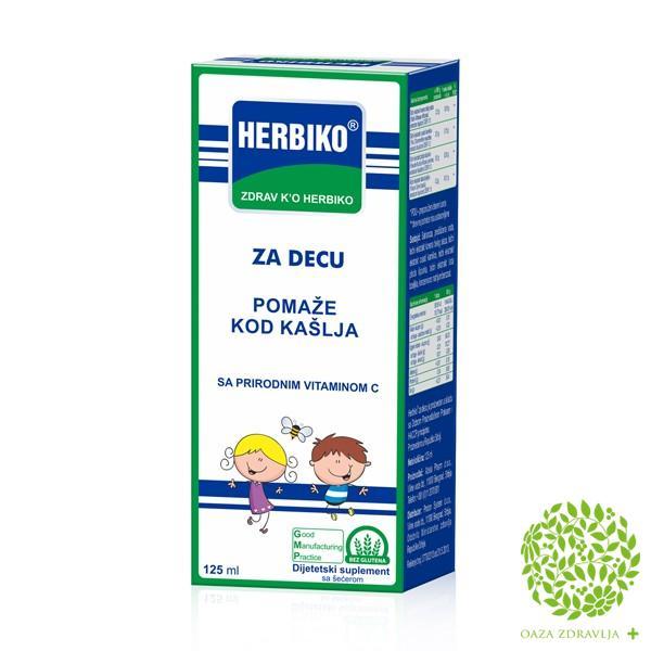 SIRUP HERBIKO ZA DECU 125 ml