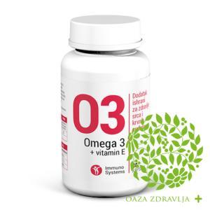 OMEGA 3+VITAMIN E 30 kapsula