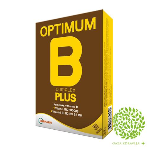 OPTIMUM B COMPLEX PLUS 30 kapsula