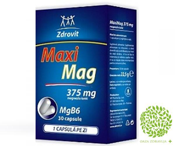 MAXI MAG kapsule 30x375mg