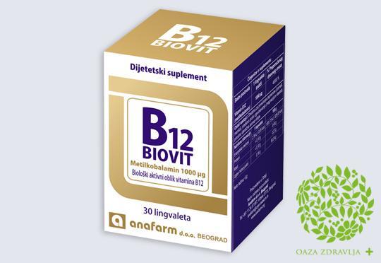 B12 BIOVIT 30 tableta