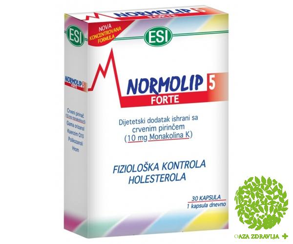 NORMOLIP 5 FORTE 30 kapsula