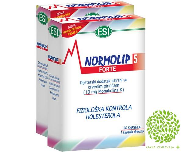 NORMOLIP 5 FORTE DUO PACK