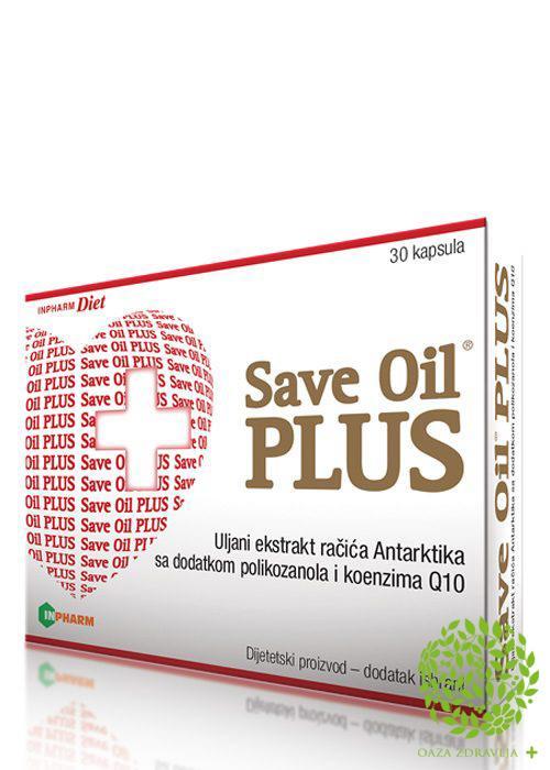 SAVE OIL SOFTGEL PLUS 30 kapsula